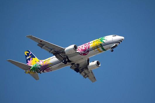 スカイネットアジア航空 B737-400
