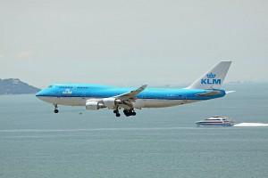 KLM B747-400