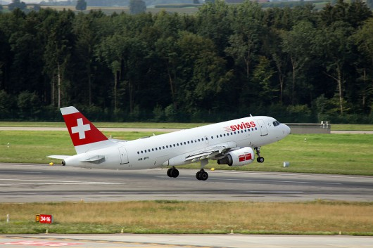 Swiss A319