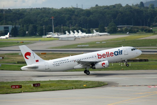 Bellair A320 F-ORAD
