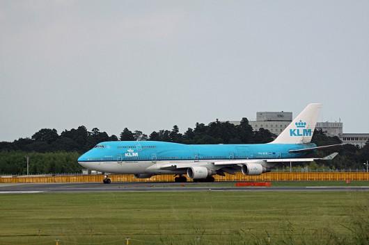 KLMオランダ航空 B747-400M PH-BFR