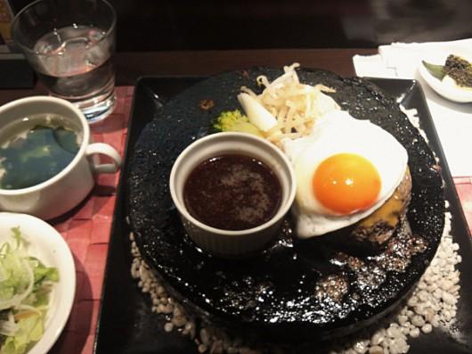 大人のハンバーグセット200g1500円