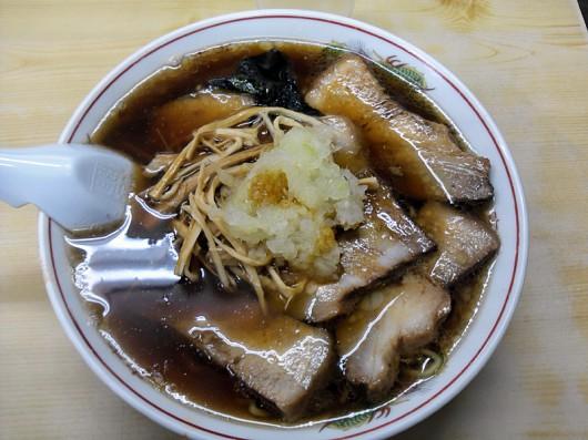 竹岡式ラーメン「寿」