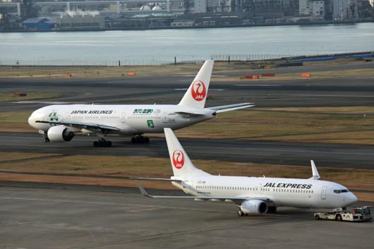 JAL B737-800 JAL777-200 JA339A