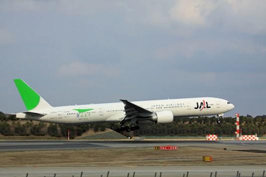 JAL B777 Eco-jet