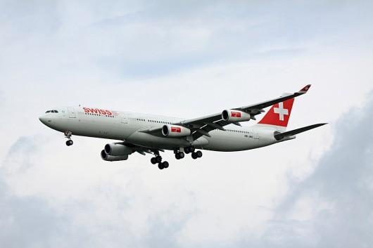 LX/SWR/スイス国際航空 A340-300 HB-JMC