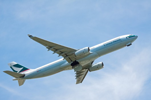 CX/CPA/キャセイ航空 A330 B-HLG