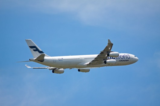 AY/FIN/フィンランド航空 A340-300 OH-LQE