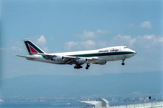 AZ/AZA/アリタリア航空 747-200F