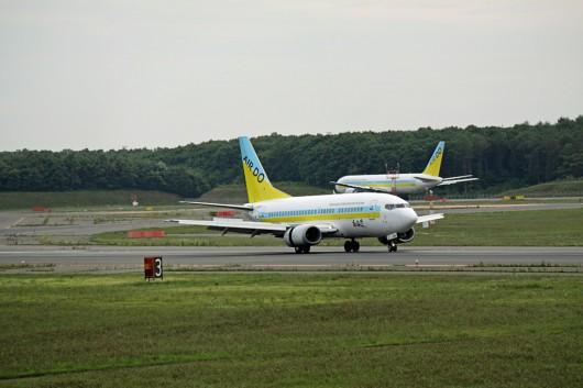 HD/ADO/北海道国際航空 B737-500 JA300K