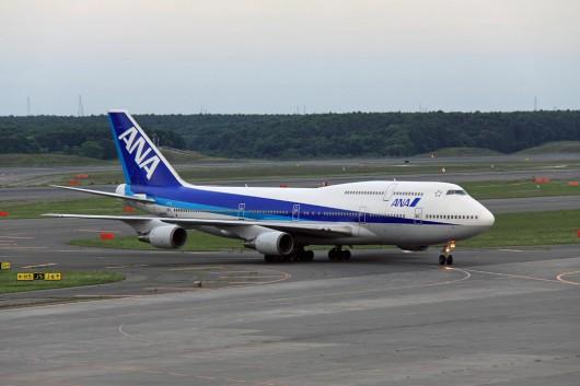 NH/ANA/全日空 B747-400D JA8965