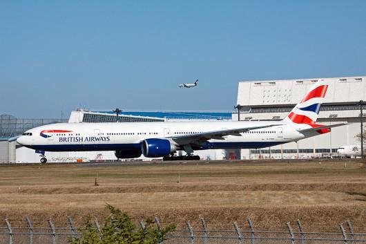 BA/BAW/英国航空 B777-300ER G-STBD