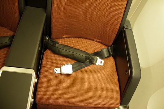 エアバック機能付きシートベルト