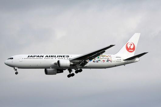 JL/JAL/日本航空 767-346/ER JA656J