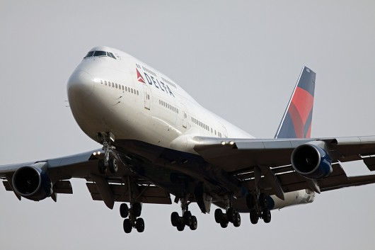 DL/DAL/デルタ航空 B747-400