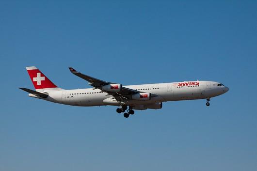 LX/SWR/スイス国際航空 A340-300 HB-JML