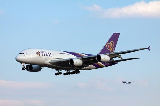 TG/THA/タイ国際航空 A380 HS-TUA
