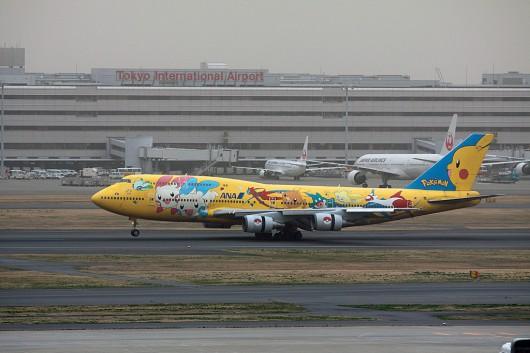 NH/ANA/全日空 B747-400D JA8957