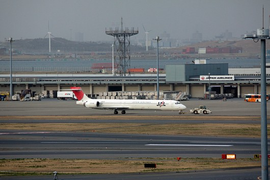 JL/JAL/日本航空 MD90 JA8029