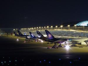 関西空港の夜景