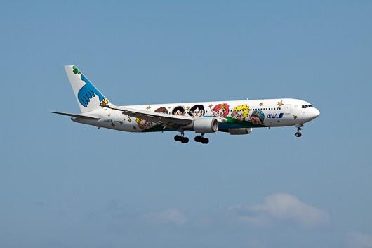 創立60周年を記念した特別塗装機「ゆめジェット~You&Me~」
