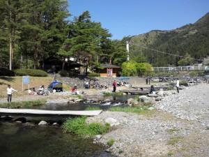 丹波山村営釣り堀
