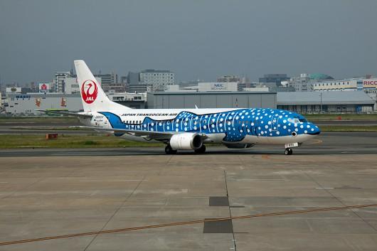 NU/JTA/日本トランスオーシャン航空 B737-400 JA8939