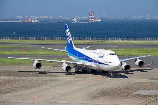 NH/ANA/全日空 B747-400D JA8966