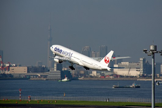 JL/JAL/日本航空 B777-200 JA771J One World Color
