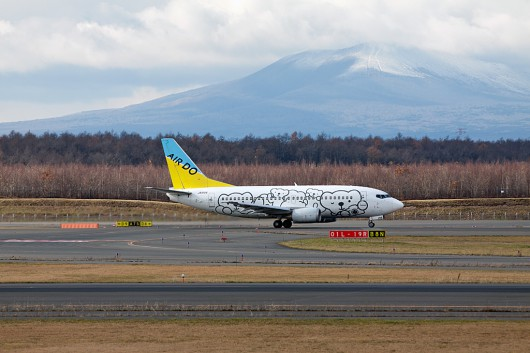 AD/ADO/北海道国際航空 B737-500 JA8196