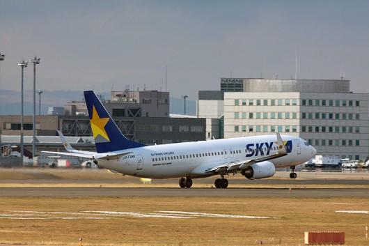 BC/SKY/スカイマーク B373-800 JA73ND