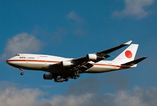 Japan Government /日本国政府専用機 B747-400 20-1102