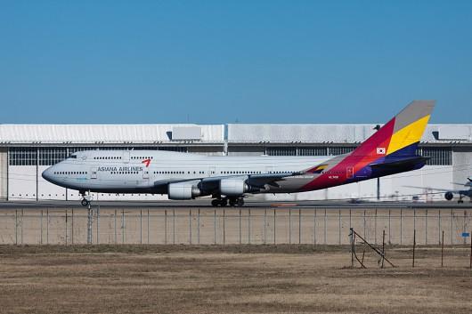 OZ/AAR/アシアナ航空 B747-400 HL7418