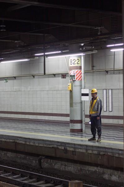 機関車停車位置