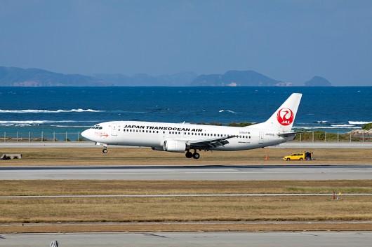 NU/JTA/日本トランスオーシャン B737-400 JA8998