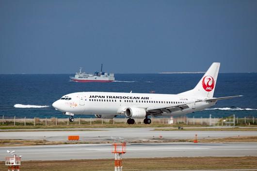 NU/JTA/日本トランスオーシャン B737-400 JA8991