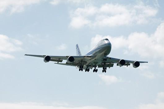 NH/ANA/全日空 B747-400D JA8961 Approaching OKA RWY36