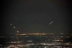 成田空港の夜景