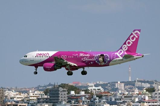 """MM/APJ/ピーチアビエーション A320 JA805P """"Mariko-Jet"""""""
