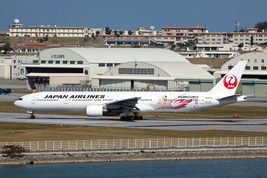 JL/JAL/日本航空 B777-300 JA8942 Sochi Olympic Color