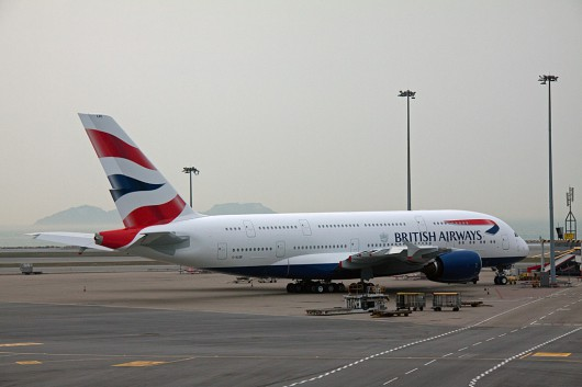 BA/BAW/英国航空 A380 G-XLEE
