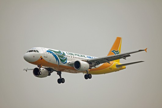 5J/CBE/セブ・パシフィック航空 A320 RP-C3244