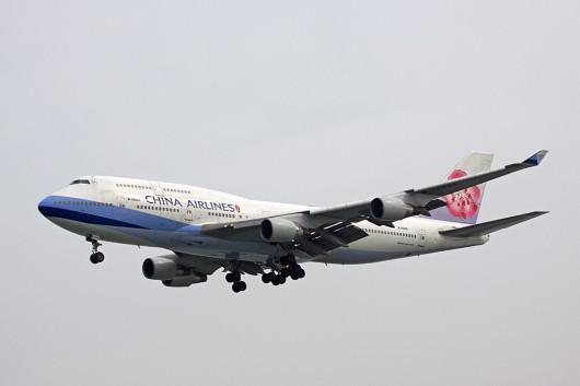 CI/CAL/中華航空 B747-400 B-18205
