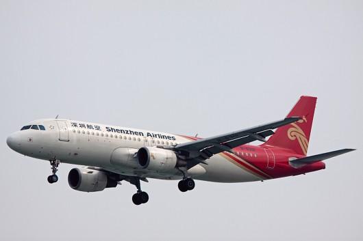 ZH/CSZ/深セン航空 A320 B-6312