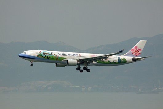 CI/CAL/中華航空 A330-300 B-18355 「Time for Taiwan Express」