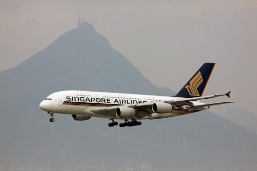 SQ/SIA/シンガポール航空 A380 9V-SKE