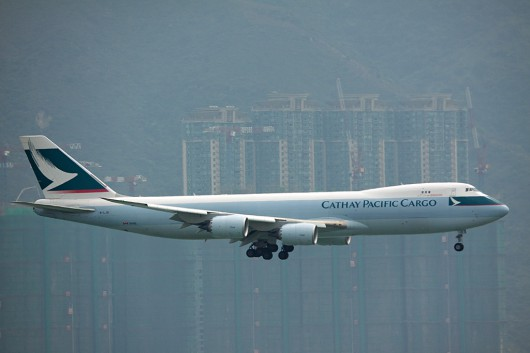 CX/CPA/キャセイ・パシフィック航空 B747-8F B-LJD