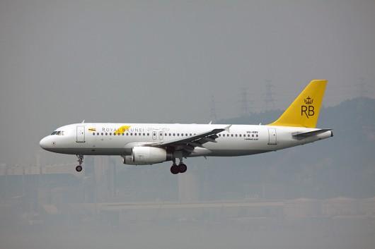 BI/RBA/ロイヤルブルネイ航空 A320 V8-RBV