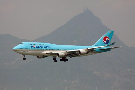 KE/KAL/大韓航空 B747-400 HL7494