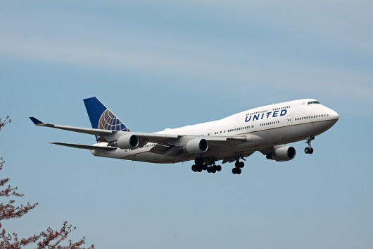 UA/UAL/ユナイテッド航空 B747-400 N182UA